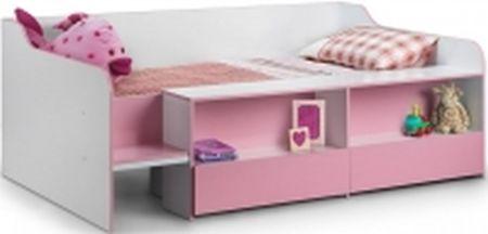 3749ee0b03d9 1-Julian-Bowen-Stella-Pink-Low-Sleeper-Bed.jpg ...