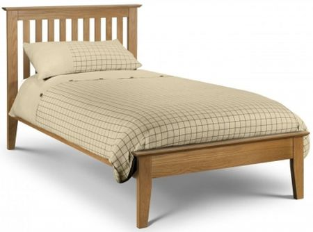 Julian Bowen Solid Oak Salerno Bed Frame