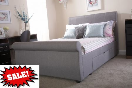 GFW Alabama 2 Draw Storage Bed