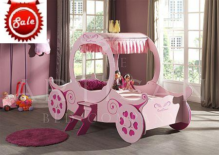 The Princess Carriage Bed