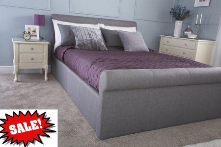 GFW Carolina Ottoman Upholstered Bed