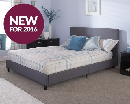 GFW Bed In A Box Upholstered Bed