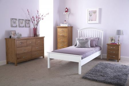 GFW Madrid bed Low Foot End Bed Frame