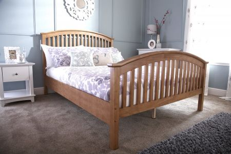 GFW Madrid High Foot End Bed Frame