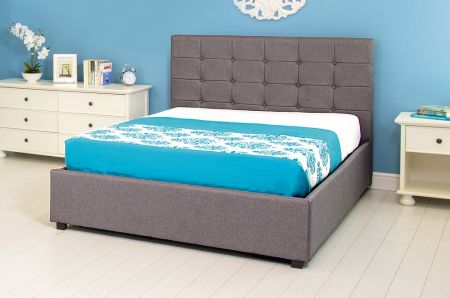 GFW Regal Ottoman Upholstered Bed Frame